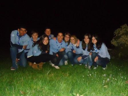 Parte do Kraal de Scouters 2012-2013