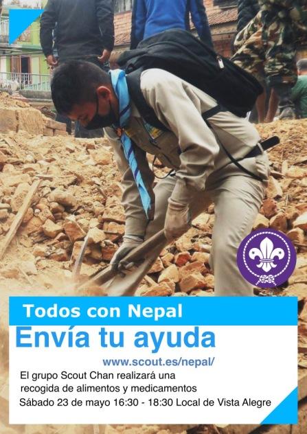 Axuda para Nepal