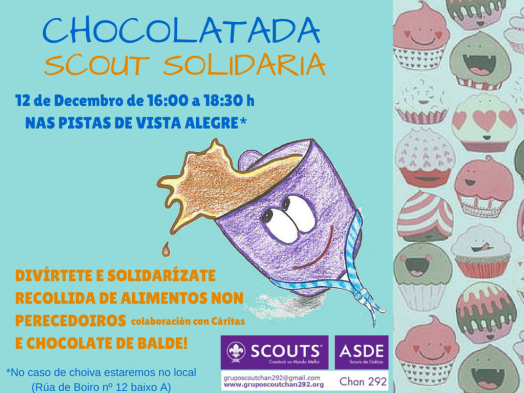 Cartel Chocolatada