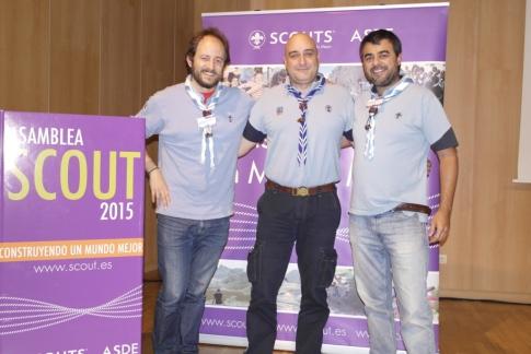 A nosa representación na Asamblea Scout