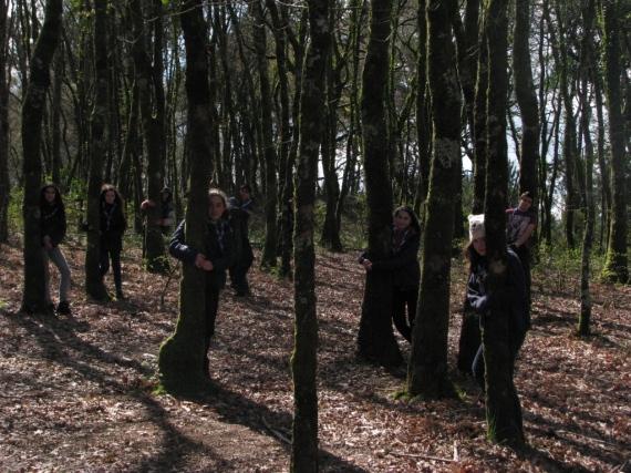 Fotografía presentada pola Unidade Esculta do Grupo Chan para o concurso #VidaNaNatureza da Federación ASDE-Scouts de Galicia