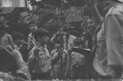 Promesa de Manada Pedro D. no Grupo Sant-Yago 08/02/1970